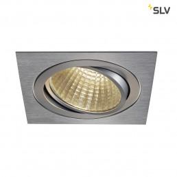 SLV 114296 New Tria 1 Set square alu led inbouwspot 3000K