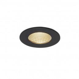 Actie SLV 114420 Patta-I LED round zwart inbouwspot