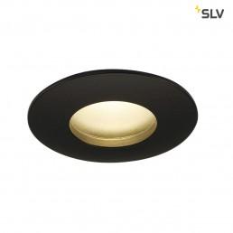 SLV 114460 Out 65 round hoogvolt LED zwart inbouwspot