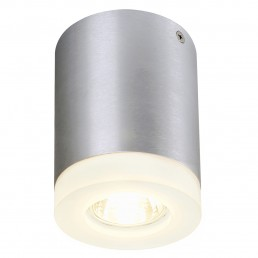 SLV 114730 Trigla round alu geborsteld plafondlamp