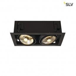 SLV 115550 Kadux 2 ES111 inbouwspot zwart