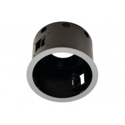 SLV 115604 Aixlight Pro 1 Frame QRB111 Round zilvergrijs inbouwspot