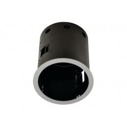 SLV 115644 Aixlight Pro 1 Frame QRB111 Round zilvergrijs inbouwspot