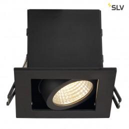 SLV 115700 Kadux 1 LED inbouwspot zwart
