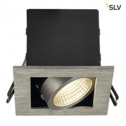 SLV 115706 Kadux 1 LED inbouwspot alu