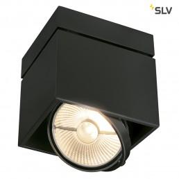 SLV 117100 Kardamod Surface Square ES111 single zwart plafondlamp