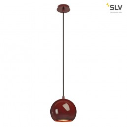 SLV 133486 Light Eye wijnrood hanglamp