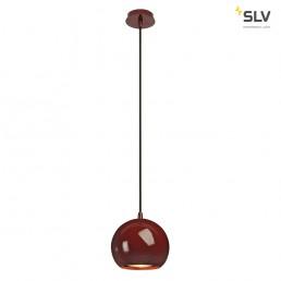 SLV 133486 Light Eye wijnrood hanglamp