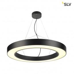 SLV 133850 medo ring 90 zwart 11xled 3000k