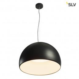 SLV 133896 bela 60 led zwart/wit 1xled 3000k