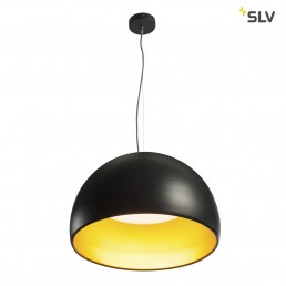 SLV 133897 bela 60 led zwart/goud 1xled 3000k