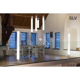 134001 SLV light pipe pendellamp wit 1xled 2700k 60cm