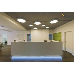 SLV 135124 Medo 60 LED zilvergrijs plafondlamp