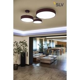 SLV 135126 Medo 60 LED wijnrood plafondlamp