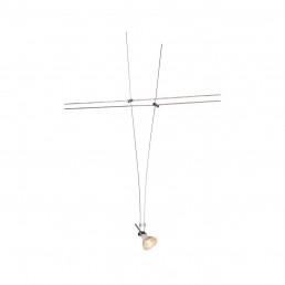 139072 SLV kabelarmatuur voor tenseo chroom 1xgx5,3