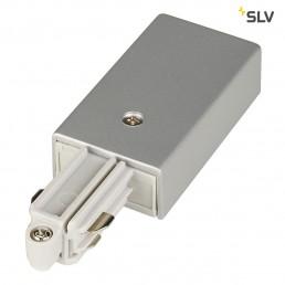 SLV 143042 1-Fase voeding zilvergrijs