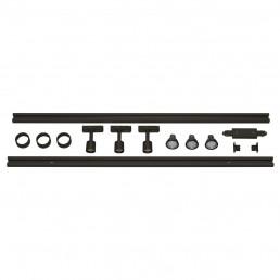 SLV 143190 1-Fase Spanningsrail Set 3 x PURI zwart