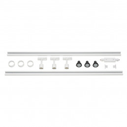 SLV 143191 1-Fase Spanningsrail Set 3 x PURI wit
