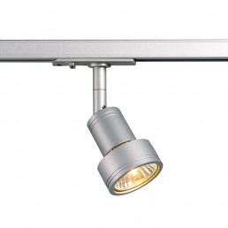 SLV 143392 Puri track zilvergrijs 1-fase railverlichting