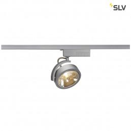 SLV 143464 Kalu Track QR111 zilvergrijs 1-fase railverlichting