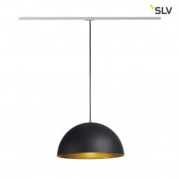 SLV 143930 Forchini M 40 track zwart/goud 1-fase railverlichting