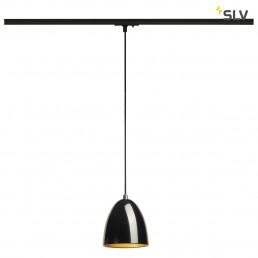 143990 SLV Para Cone 14 zwart/goud railverlichting