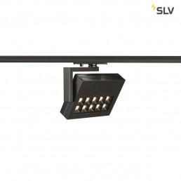 SLV 144060 Profuno track zwart 1-fase railverlichting