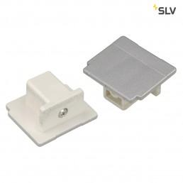 SLV 145594 Eindkap zilvergrijs railverlichting