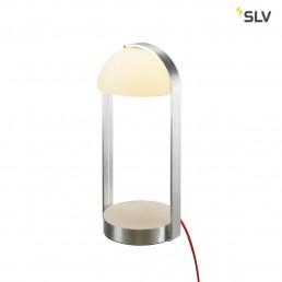 SLV 146101 brenda tafellamp wit/zilver 1xled 3000k