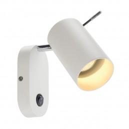 SLV 146411 Asto tube wandlamp wit