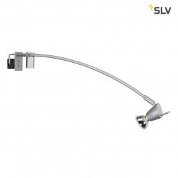 SLV 146452 Fili met klem zilvergrijs display verlichting