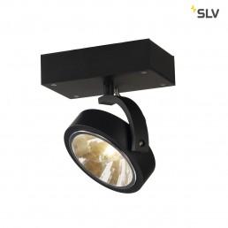 Actie SLV 147250 Kalu 1 zwart plafondspot