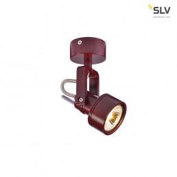 SLV 147556 Inda Spot GU10 wijnrood plafondarmatuur