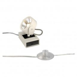 SLV 147661 Kalu Floor 1 led zwart/wit vloerlamp