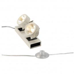 SLV 147671 Kalu Floor 2 led zwart / wit vloerlamp