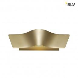 147823 SLV Wave Wall messing wandlamp