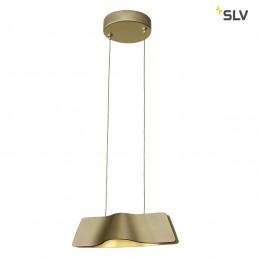 SLV 147833 Wave pendant messing hanglamp