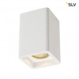 SLV 148004 Plastra CL-1 wit gips plafondlamp