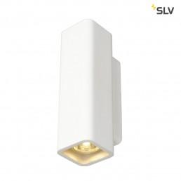 Actie SLV 148015 Plastra WL-1 wit gips wandlamp