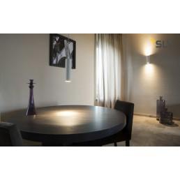 SLV 148060 Plastra Tube wit wandlamp