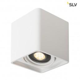 148081 SLV plastra plafondlamp qpar111 wit 1xgu10