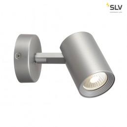 148504 SLV Debasto Single zilvergrijs LED Spot