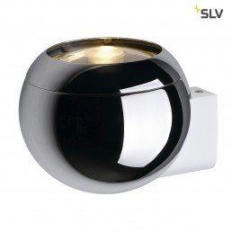 SLV 149031 Light Eye Ball GU10 Chroom wandarmatuur