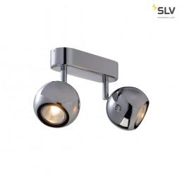 SLV 149072 Light Eye 2 GU10 Chroom wand- en plafondspot