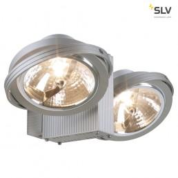 SLV 149142 Tec 2 Karda zilvergrijs plafondlamp