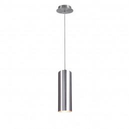 SLV 149385 enola zilver alu geborsteld 1xe27 hanglamp