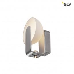 SLV 149431 brenda wit/zilver 2xled 3000k