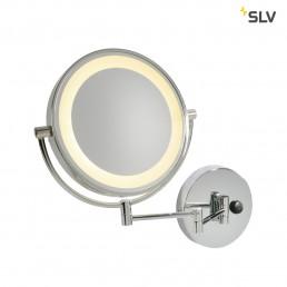SLV 149782 Vissardo chroom LED 3000k scheerspiegel