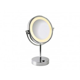 Make-up spiegel SLV 149792 Vissardo chroom led