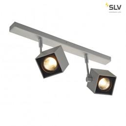SLV 151174 Altra Dice 2 zilvergrijs wand- en plafondspot